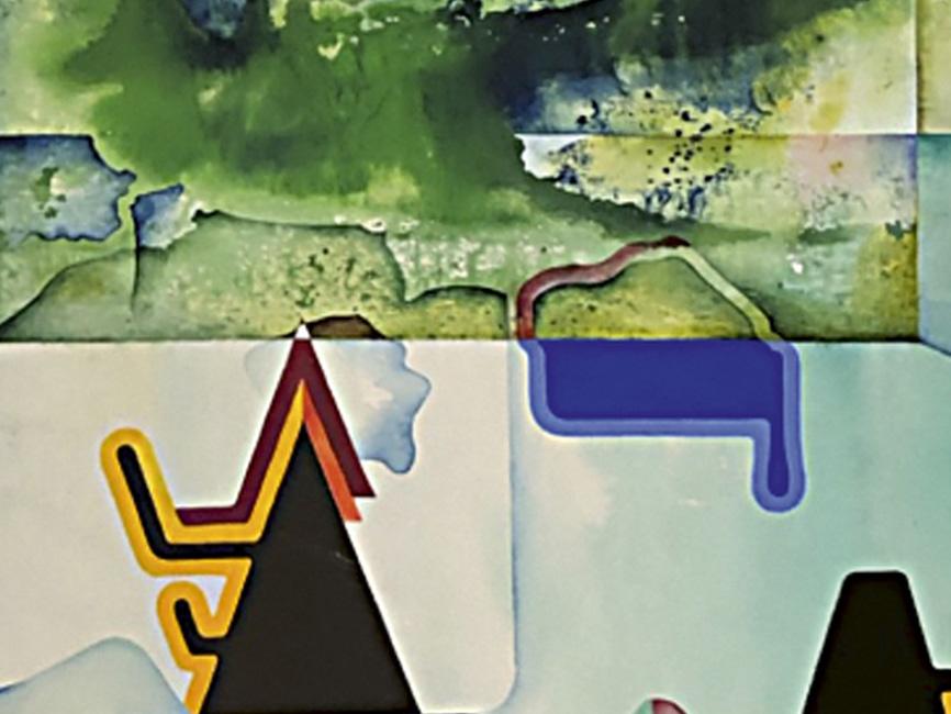 Mirroring the Green Water Island, 1969