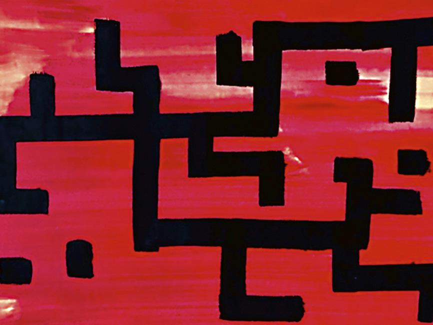 Aztekische Zeichenschrift Quetzalcoatl, 1965