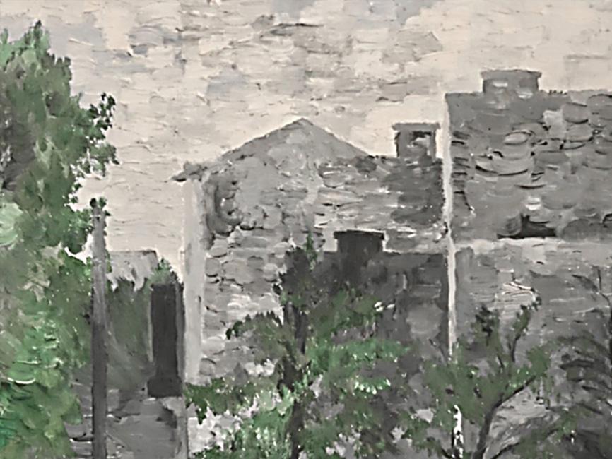 Häuserlandschaft, 1961
