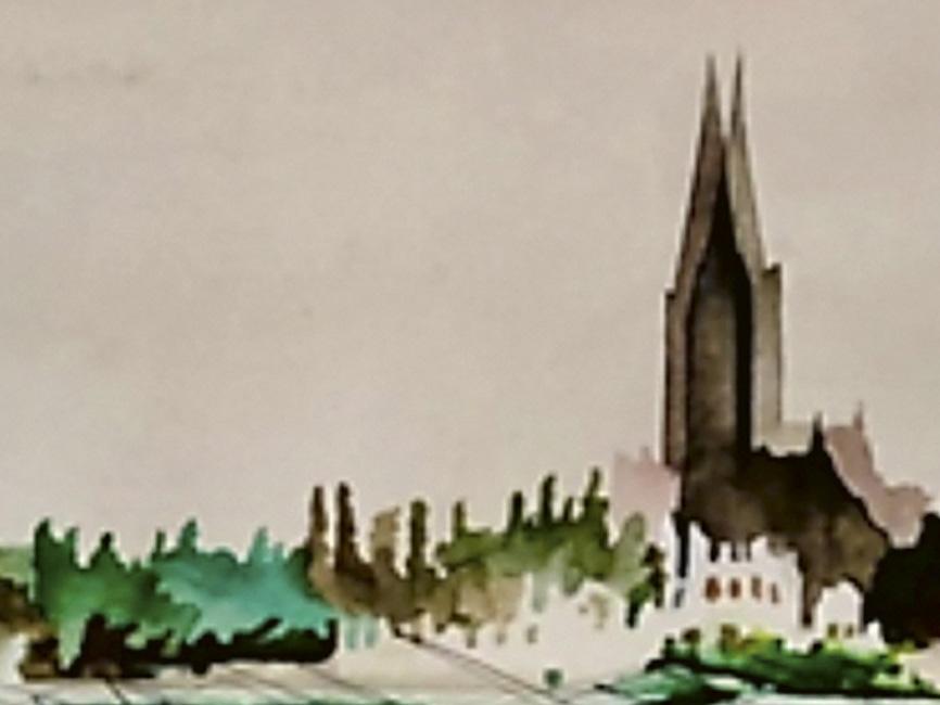 St. Valentin vom Rohrberg aus gesehen, 1963
