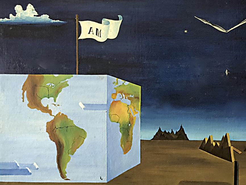 Weltwürfelgrab der Großmutter, 1968