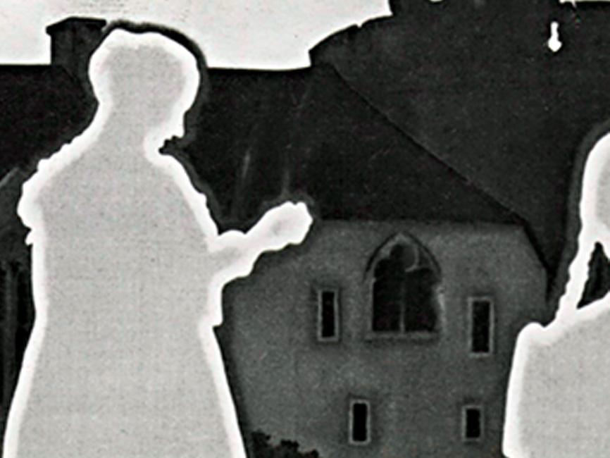 Ausflug mit Pfarrer und Pfarrersköchin Resi, 1974
