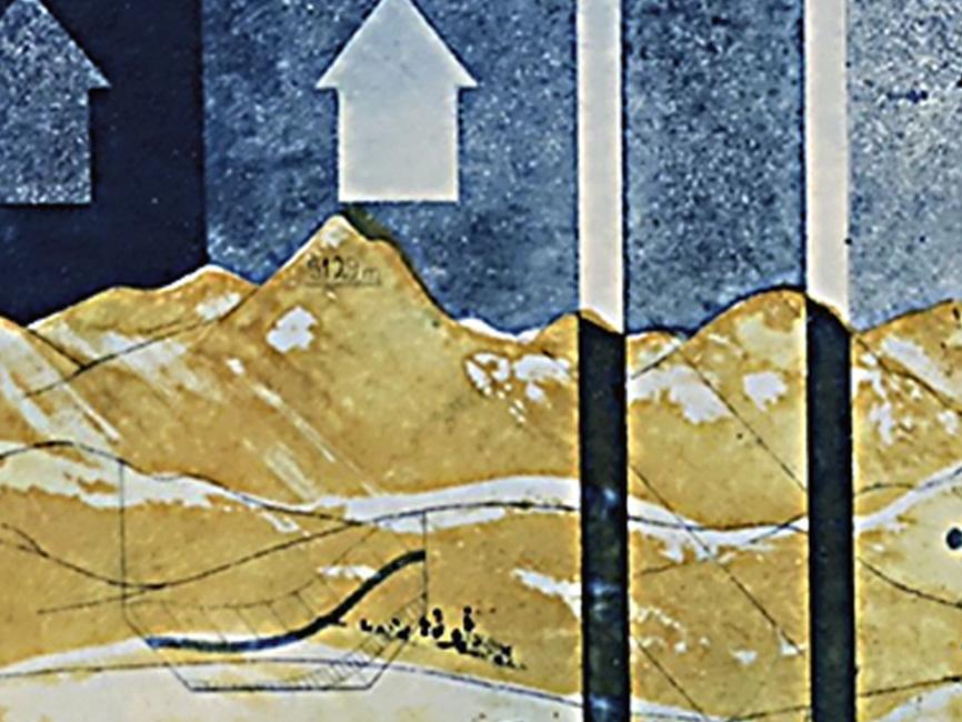 Drei Pfeile, 1971