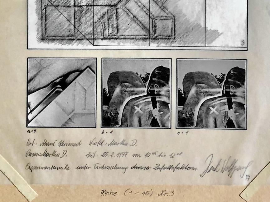 Experimentreihe (1–15) Mané Kerioned N° 3, 1977