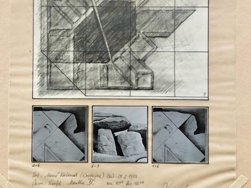 Experimentreihe (1–15) Mané Kerioned N° 9, 1977