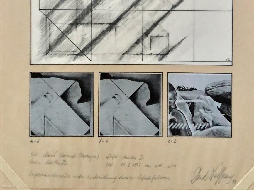 Experimentreihe (1–15) Mané Kerioned N° 12, 1977