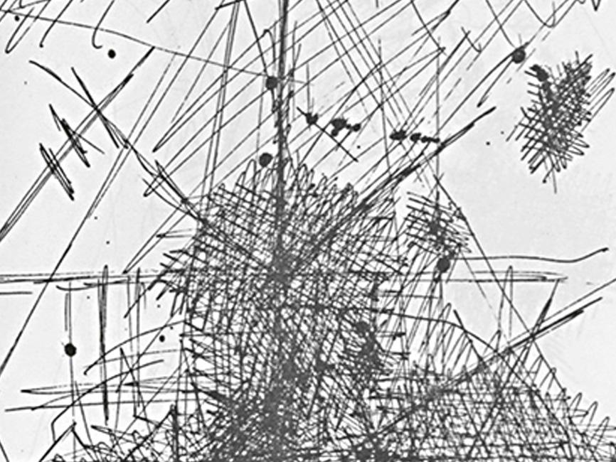 Feldskizzen bei den Megalithskulpturen, 1975