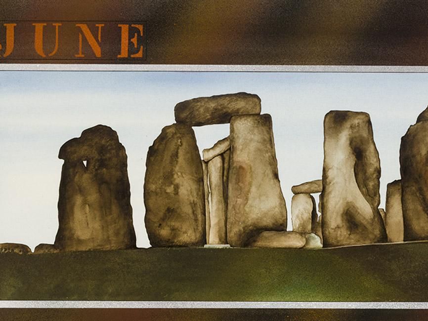 JUNE (Stonehenge) Parkplatz 1 3 5, 1978