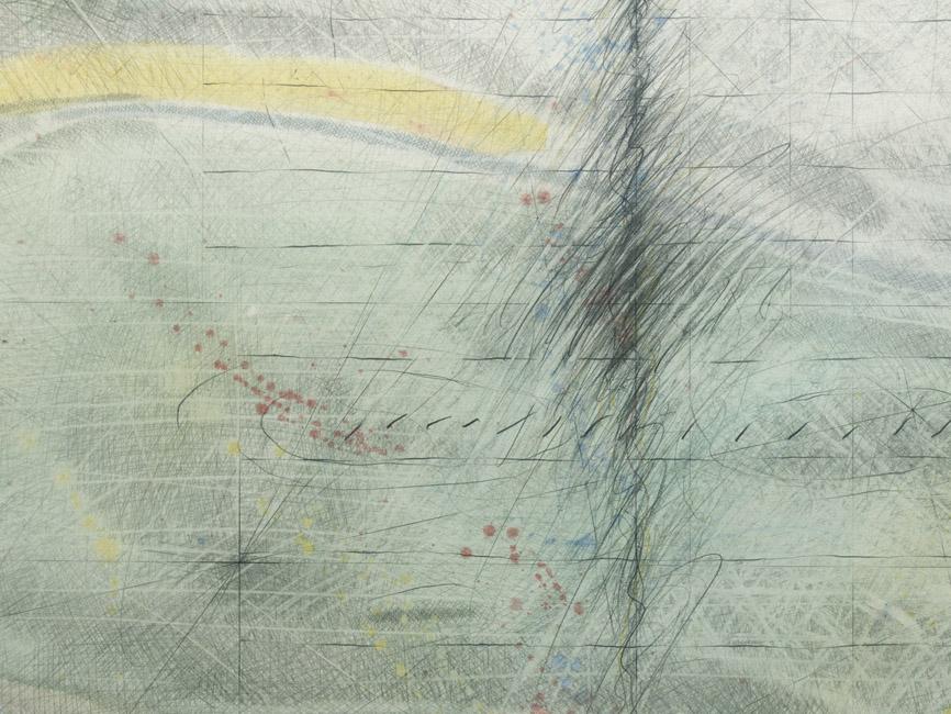 Krähenflug über südenglischem Ringwall, 1979
