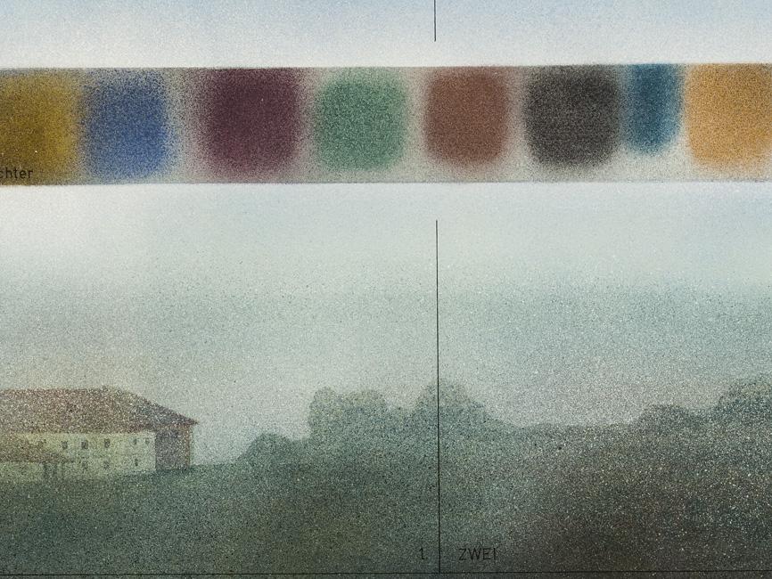 Regenbogenassoziationen über Mostviertel, 1978