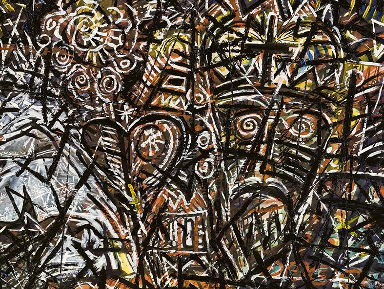 Der Schleier im Dornbusch, 1985