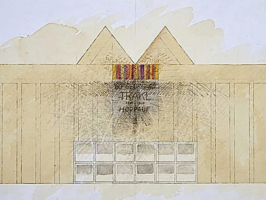 Georg Trakl Tempel, 1980