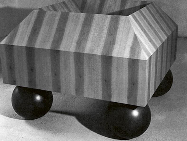 Objekt Harter Stand / aus dem Lot, 1988