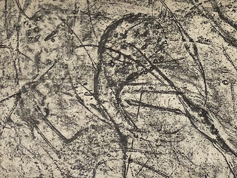 Ohne Titel, Unterwasserstruktur, 1990
