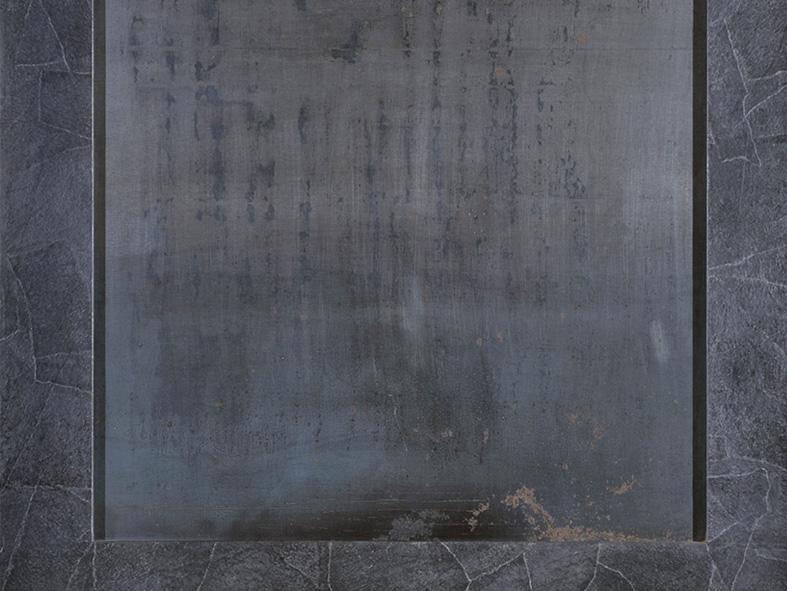 Quadratisches Wandobjekt, 1991