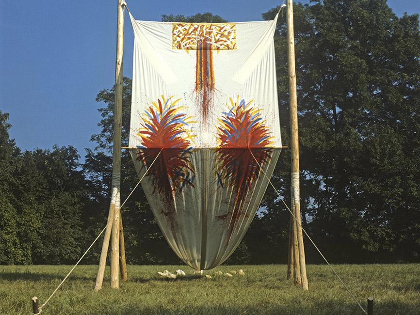 Sonnentanz-Großprojekt im Fischapark, 1981