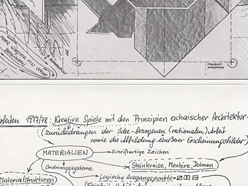 Überlagerungen Arbeiten 1977/78, 1978