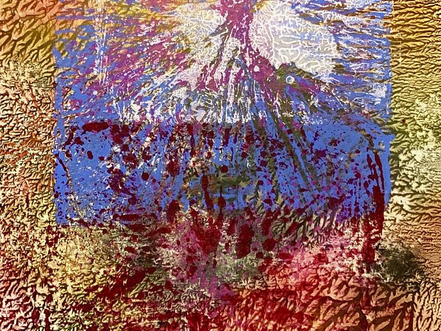 DENK ART Zentral Blut und Sommer, 2020