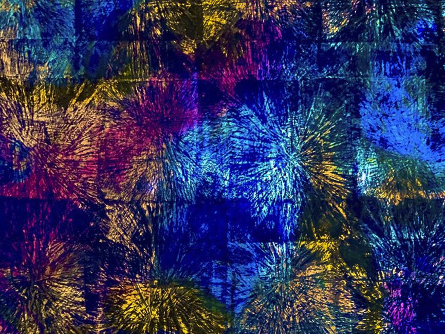 DENK ART Plasticolortype Ultrablau II, 2020
