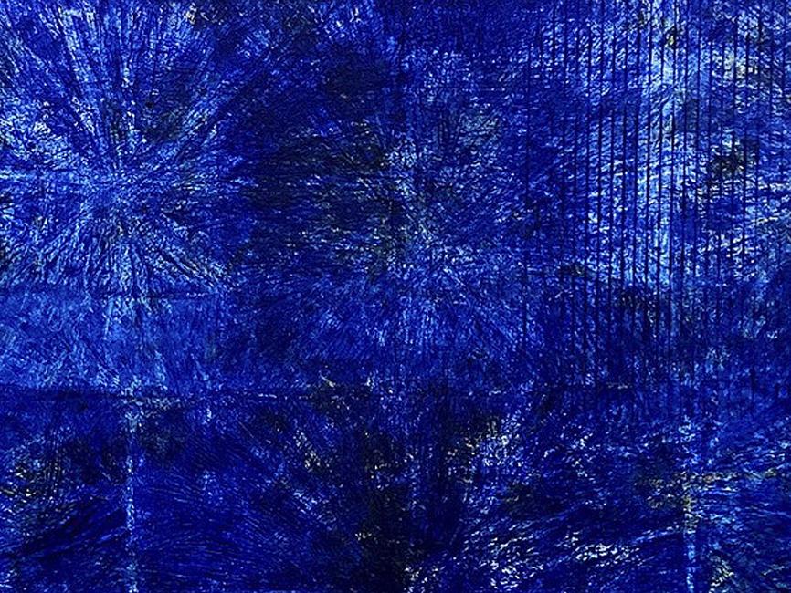 DENK ART Plasticolortype Ultrablau, 2020