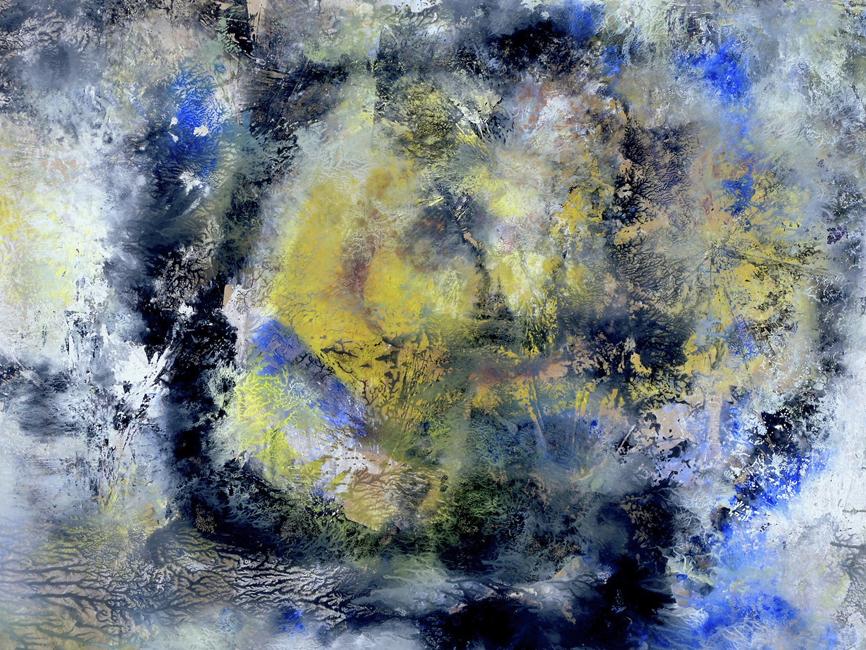 DENK ART Plasticolortype Cosmic Black Circle 2020