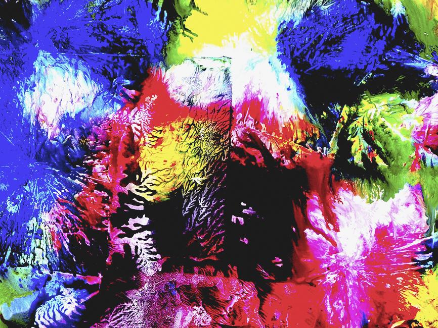 DENK ART Plasticolortype Blue Yellow Red Bl.I 2020