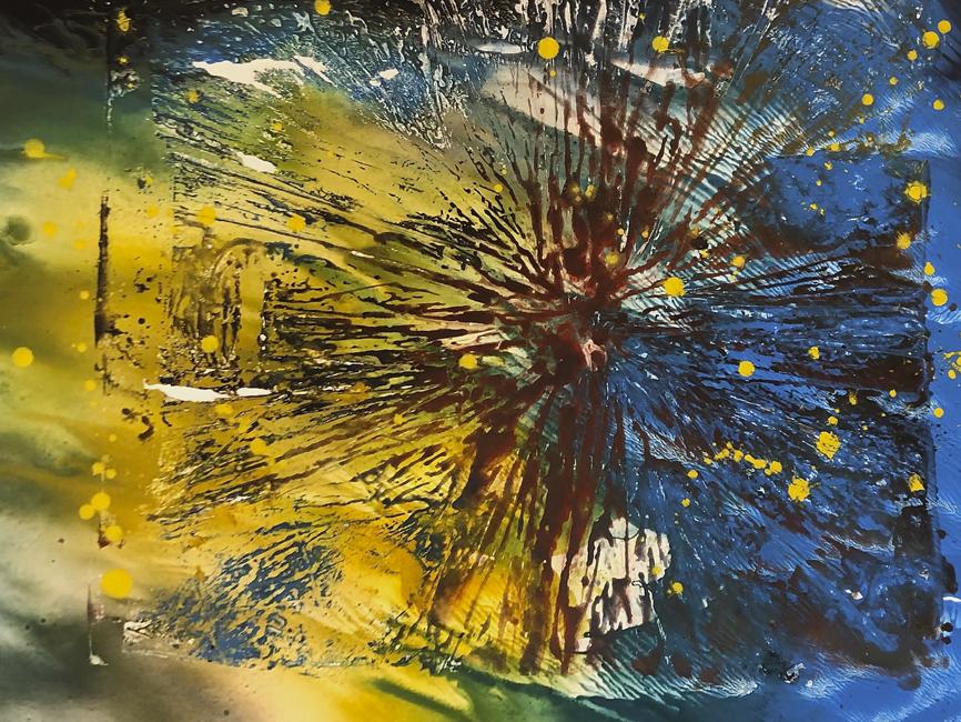 DENK ART Composition D23 Space II 2020