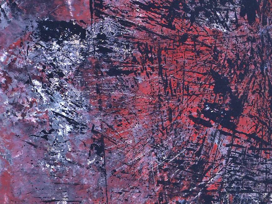 DENK ART Resumption Red Grey Black Stars 2020