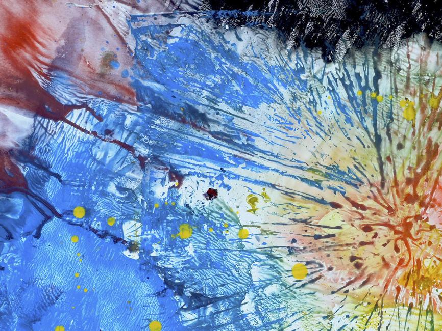 DENK ART Composition Stormy Weather II 2020