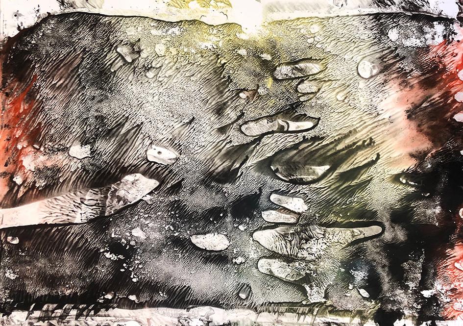 DENK ART Composition Vulkanerde erkaltet 2020