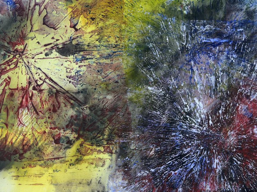 DENK ART Yellow Storms over the Ocean 2020